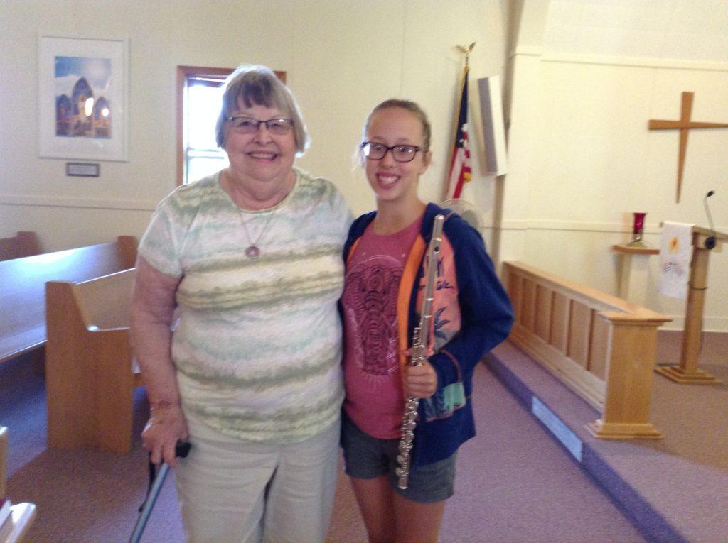 Jean & Granddaughter
